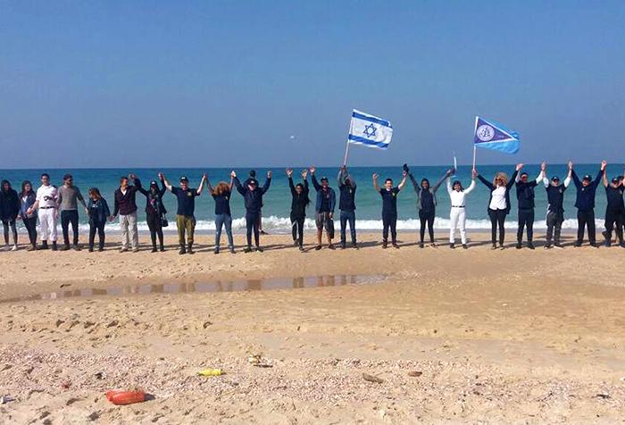 פעילות – מפגן ימי של תלמידי קציני אורט ים אשדוד